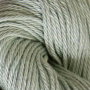 Skein of Cascade Ultra Pima DK weight yarn in the color Sage (Green) for knitting and crocheting.