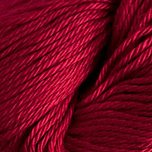 Load image into Gallery viewer, Skein of Cascade Ultra Pima DK weight yarn in the color Wine (Red) for knitting and crocheting.
