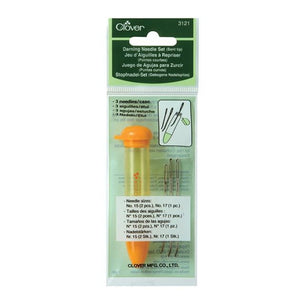 Clover Chibi Bent-Tip Tapestry Needle Set & Case in packaging