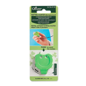 Clover Mini Knitting row Counter in packaging