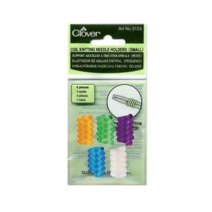 Clover Coil Knitting Needle holder for small-sized knitting needles in packaging