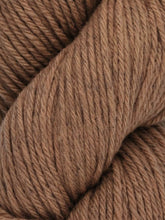 Load image into Gallery viewer, Skein of Juniper Moon Farms Santa Cruz Worsted weight yarn in the color Driftwood (Brown) for knitting and crocheting.