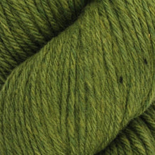 Load image into Gallery viewer, Skein of Juniper Moon Farms Santa Cruz Worsted weight yarn in the color Peridot (Green) for knitting and crocheting.