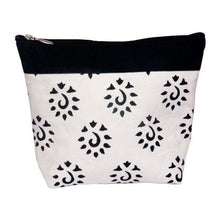 Load image into Gallery viewer, Black Knitter's Pride Big Zipper Pouches for holding knitting and crochet notions and tools.