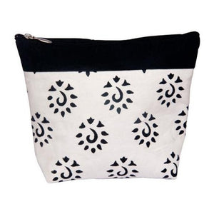 Black Knitter's Pride Big Zipper Pouches for holding knitting and crochet notions and tools.