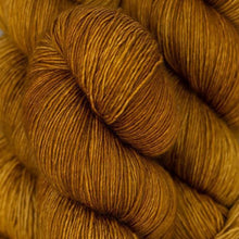 Load image into Gallery viewer, Skein of Madelinetosh A.S.A.P. Super Bulky weight yarn in the color Glazed Pecan (Brown) for knitting and crocheting.