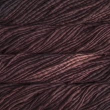 Load image into Gallery viewer, Skein of Malabrigo Rasta Super Bulky weight yarn in the color Belgian Chocolate (Brown) for knitting and crocheting.