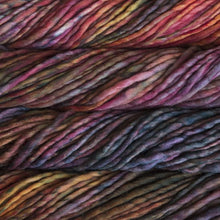 Load image into Gallery viewer, Skein of Malabrigo Rasta Super Bulky weight yarn in the color Diana (Multi) for knitting and crocheting.