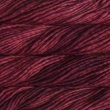 Load image into Gallery viewer, Skein of Malabrigo Rasta Super Bulky weight yarn in the color Ravelry Red (Red) for knitting and crocheting.