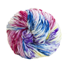 Load image into Gallery viewer, Skein of Malabrigo Rasta Super Bulky weight yarn in the color Unicorn Bark (Multi) for knitting and crocheting.