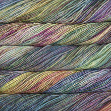 Load image into Gallery viewer, Skein of Malabrigo Rios Worsted weight yarn in the color Arco Iris (Multi) for knitting and crocheting.