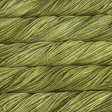 Load image into Gallery viewer, Skein of Malabrigo Rios Worsted weight yarn in the color Lettuce (Green) for knitting and crocheting.