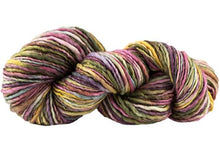 Load image into Gallery viewer, Skein of Manos del Uruguay Wool Clasica Space-Dyed Worsted weight yarn in the color Wildflowers (Multi) for knitting and crocheting.