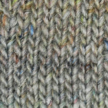 Load image into Gallery viewer, Skein of Noro Silk Garden Sock Solo Sock weight yarn in the color Shiroi (Gray) for knitting and crocheting.
