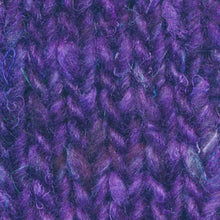 Load image into Gallery viewer, Skein of Noro Silk Garden Sock Solo Sock weight yarn in the color Yanai (Purple) for knitting and crocheting.