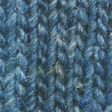 Load image into Gallery viewer, Skein of Noro Silk Garden Solo Worsted weight yarn in the color Suita (Blue) for knitting and crocheting.