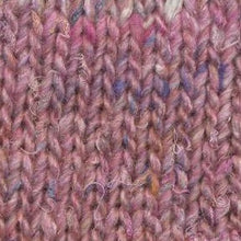 Load image into Gallery viewer, Skein of Noro Silk Garden Solo Worsted weight yarn in color Oyabe (Pink) for knitting and crocheting.