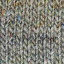Load image into Gallery viewer, Skein of Noro Silk Garden Solo Worsted weight yarn in color Shiroi (Gray) for knitting and crocheting.