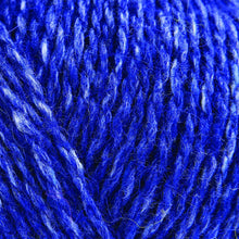 Load image into Gallery viewer, Skein of Rowan Felted Tweed DK DK weight yarn in the color Ultramarine (Blue) for knitting and crocheting.
