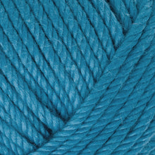 Load image into Gallery viewer, Skein of Rowan Handknit Cotton DK weight yarn in the color Atlantic (Blue) for knitting and crocheting.