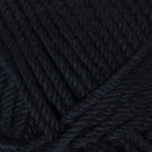 Load image into Gallery viewer, Skein of Rowan Handknit Cotton DK weight yarn in the color Black (Black) for knitting and crocheting.