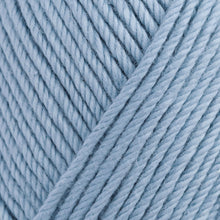 Load image into Gallery viewer, Skein of Rowan Handknit Cotton DK weight yarn in the color Icewater (Blue) for knitting and crocheting.