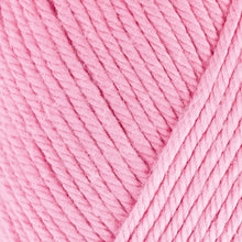 Load image into Gallery viewer, Skein of Rowan Handknit Cotton DK weight yarn in the color Sugar (Pink) for knitting and crocheting.