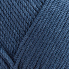 Load image into Gallery viewer, Skein of Rowan Handknit Cotton DK weight yarn in the color Thunder (Blue) for knitting and crocheting.