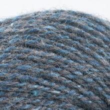 Load image into Gallery viewer, Skein of Shibui Pebble Lace weight yarn in the color Graphite (Gray) for knitting and crocheting.