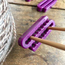 Load image into Gallery viewer, The Tempestry Project plastic knitting needle holders.
