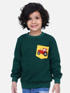 Green Funky Full Sleeve SweatShirt