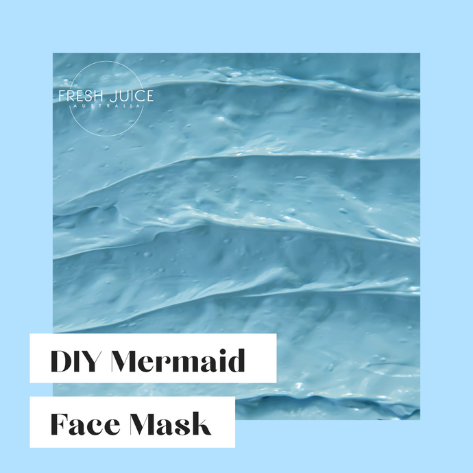 DIY Mermaid Face Mask