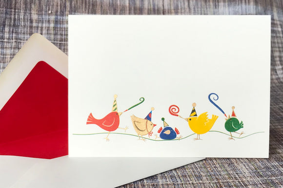 Bird Celebration Note Card