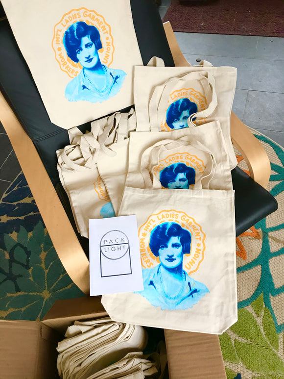 Léa Roback, International Ladies' Garment Workers' Union Tote Bag - $20 Special Price $15 through March