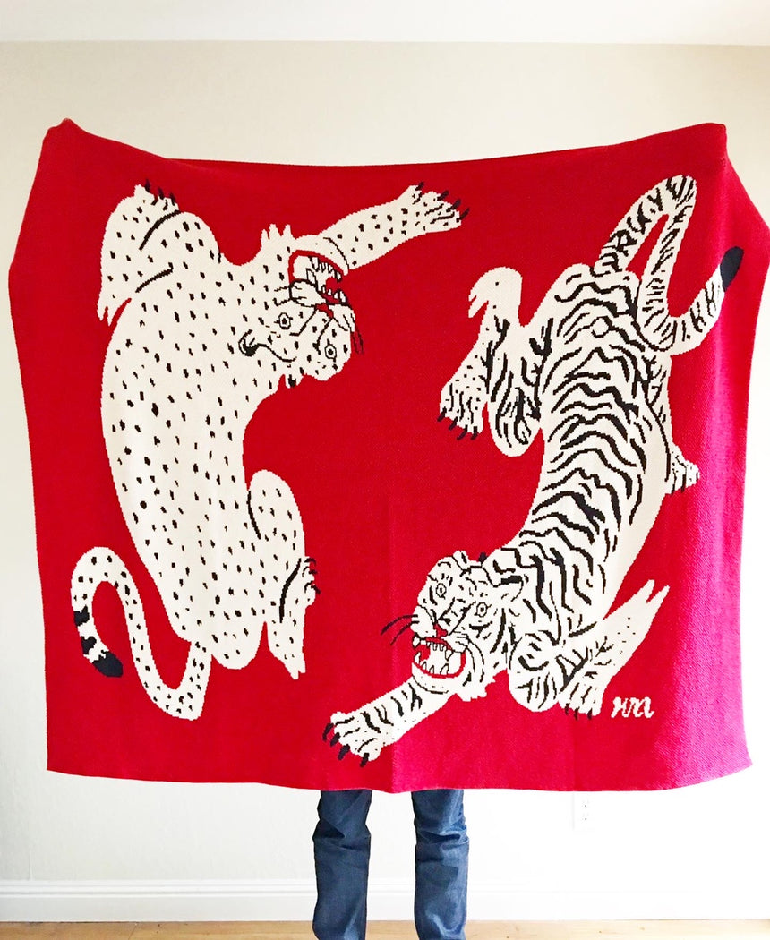 Tiger and Cheetah Blanket