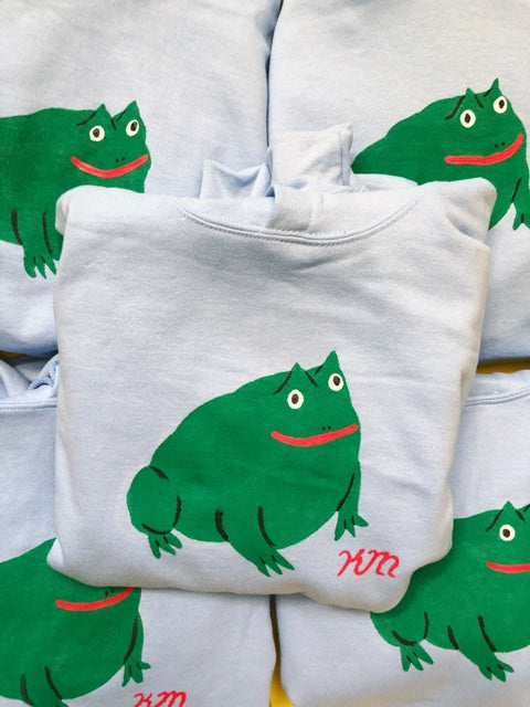 Hand Painted Toad Sweatshirt