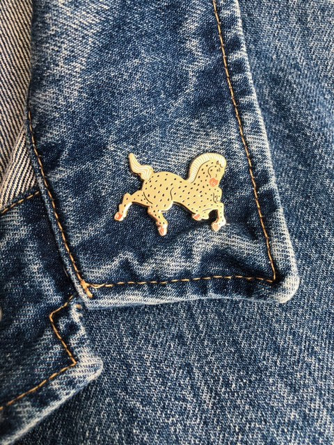 Year of the Horse Lapel Pin