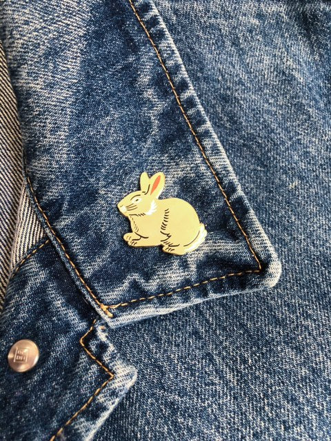 Year of the Rabbit Lapel Pin