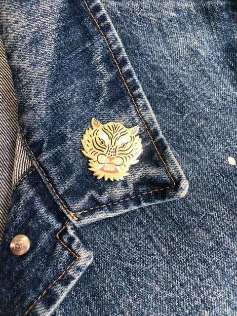 Year of the Tiger Lapel Pin