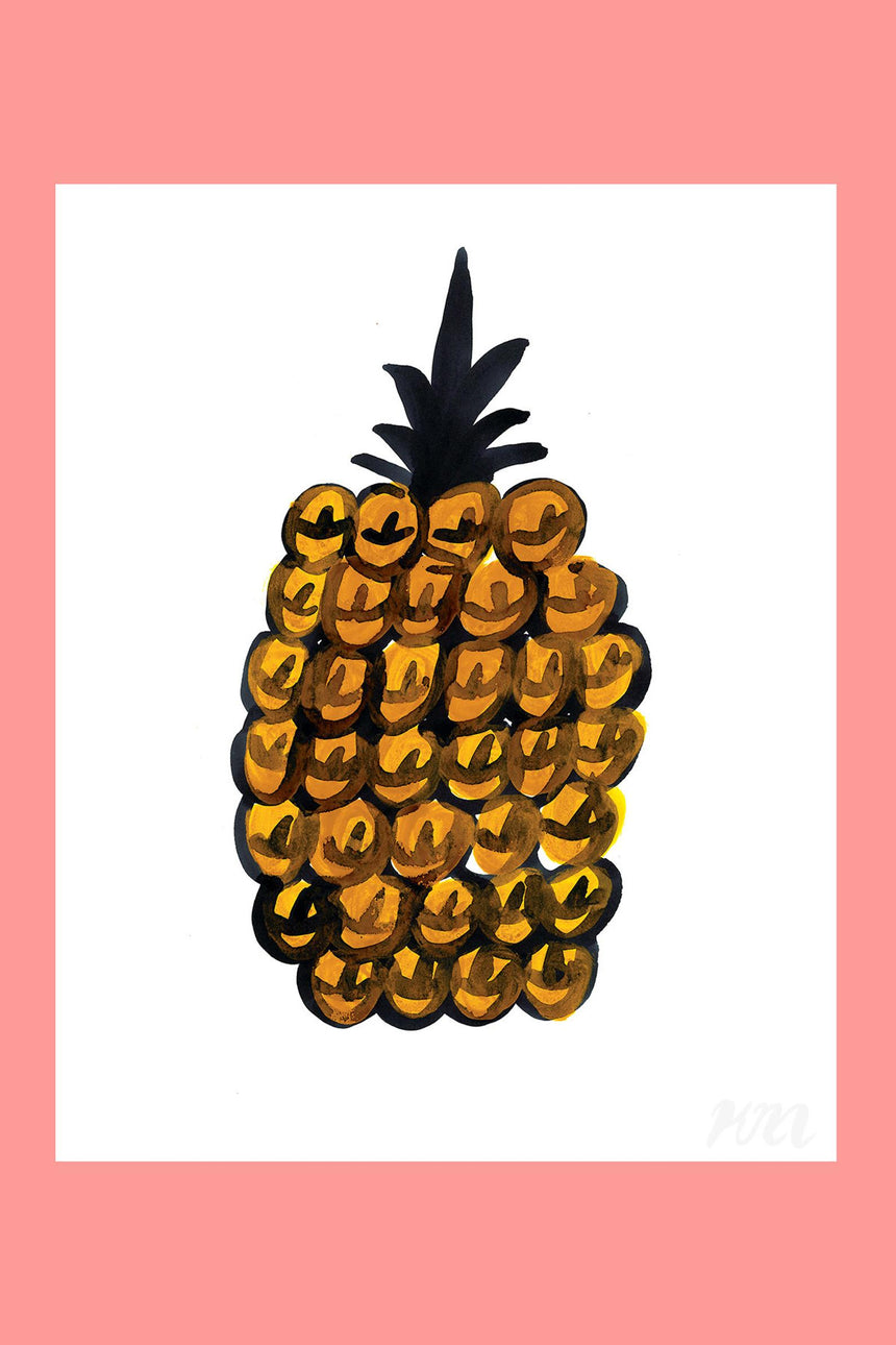 Pineapple Food Print