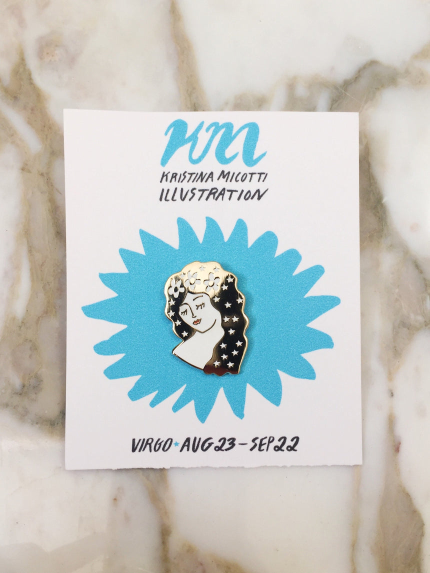 Virgo Lapel Pin