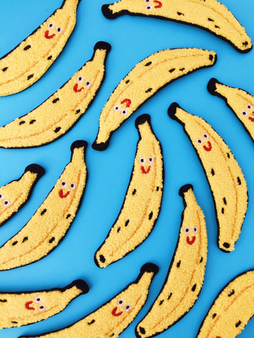 Chenille Banana Patch