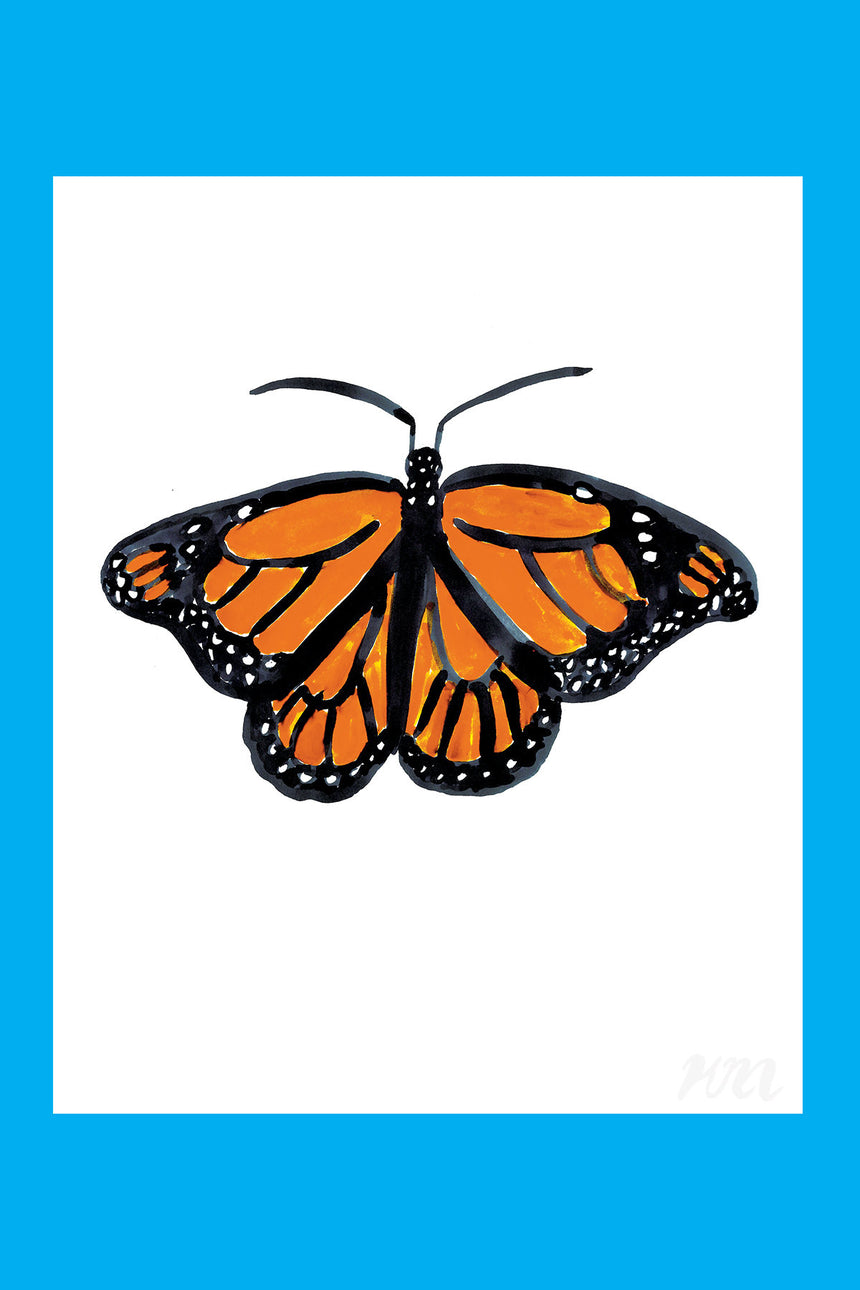 Monarch Butterfly Print