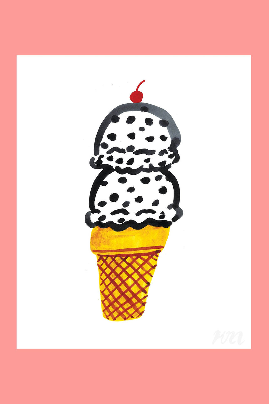 Ice Cream Food Print