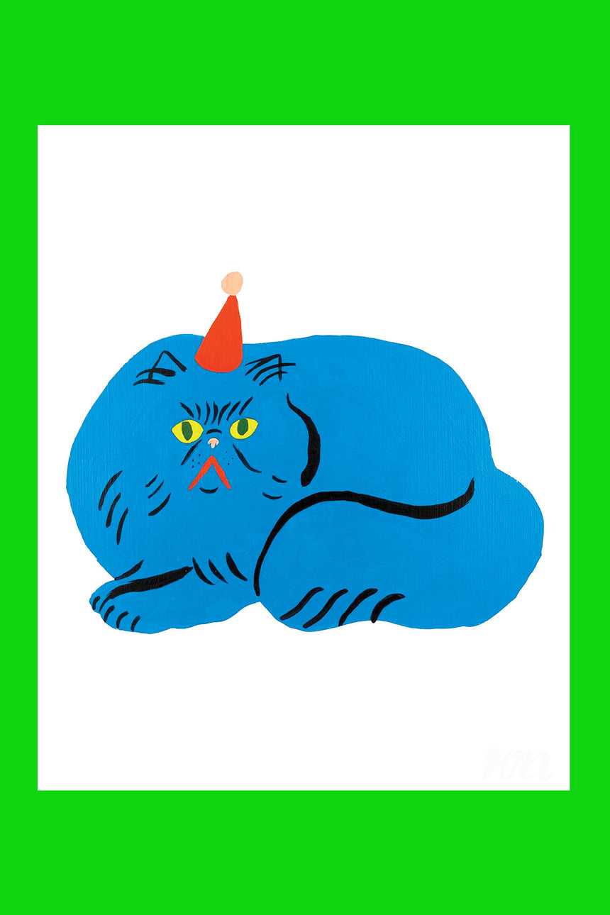 Party Cat Pet Store Print