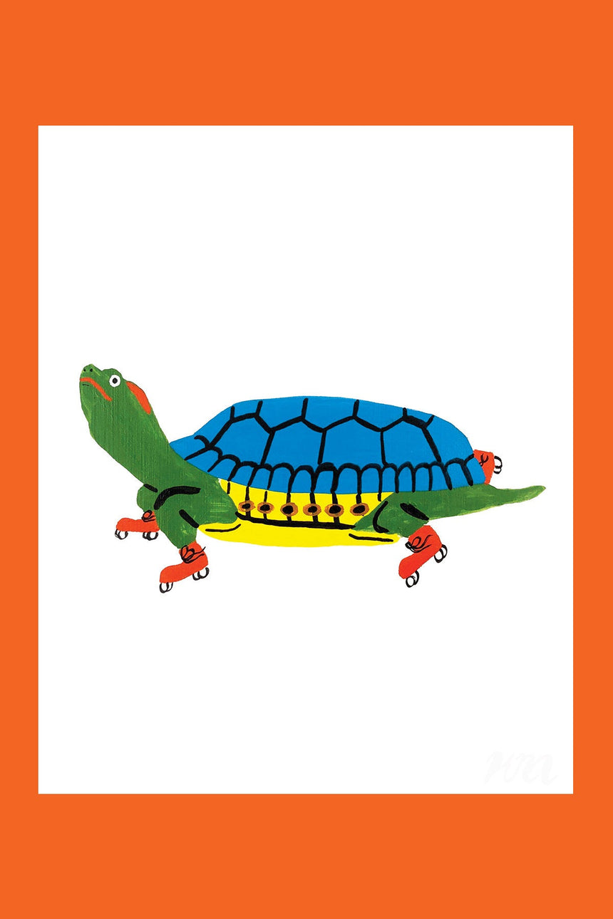 Turtle Pet Store Print