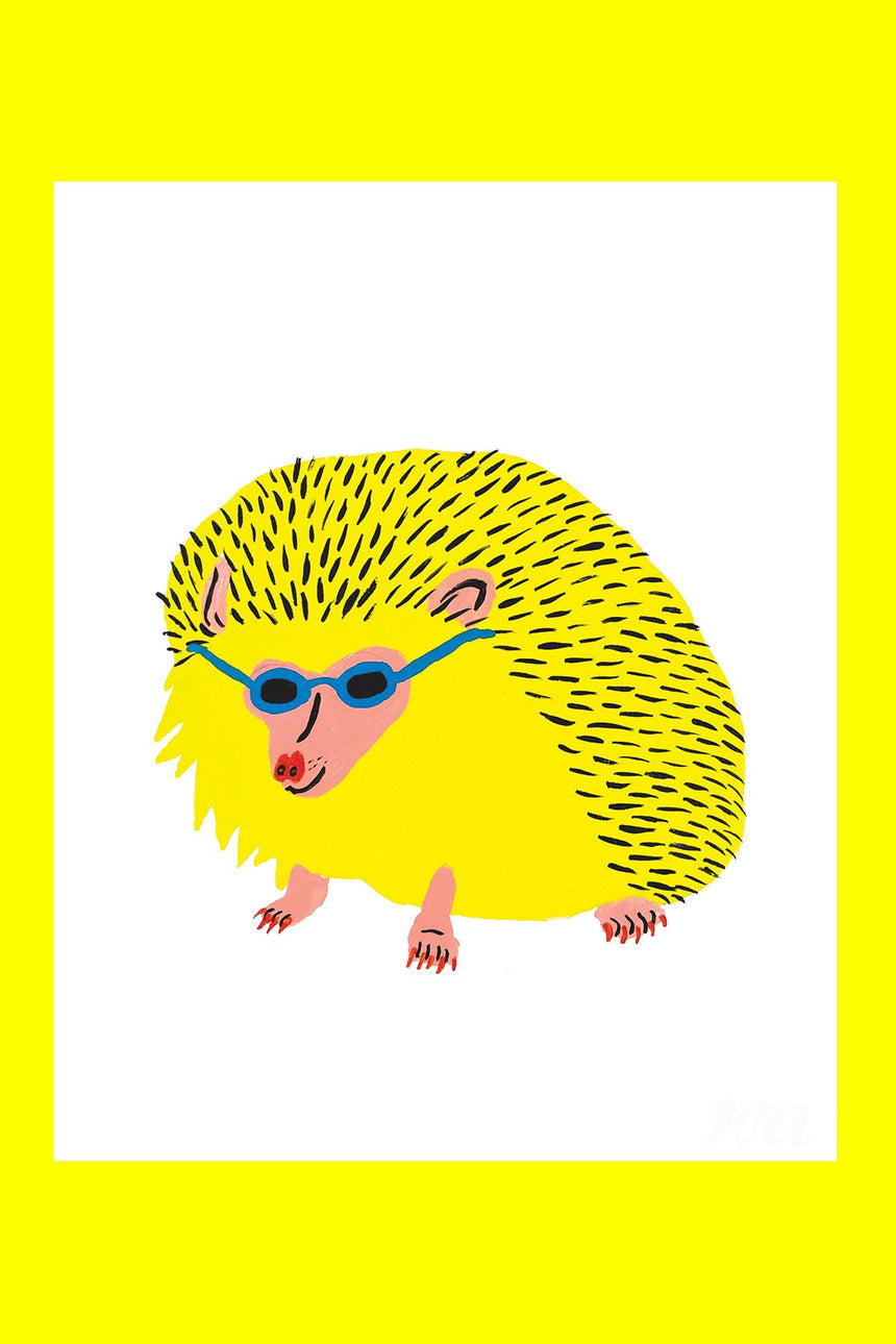 Hedgehog Pet Store Print