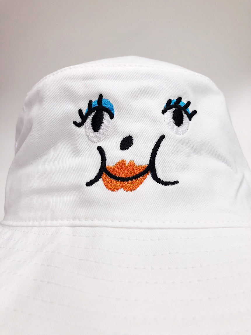 Lady Bucket Hat - White