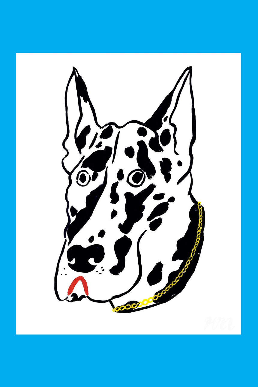 Great Dane Pet Store Dog Print
