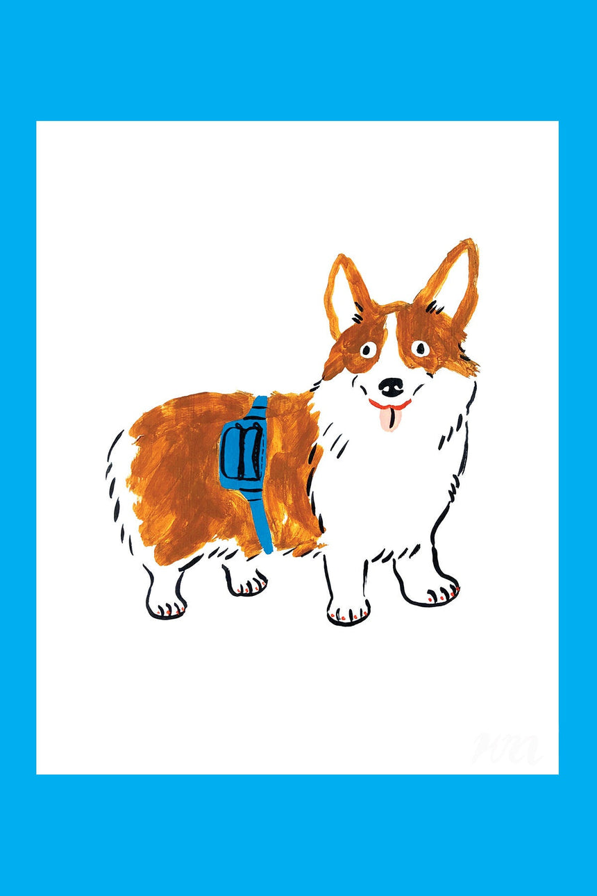 Corgi Pet Store Dog Print